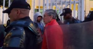 ¡Trataron de agredir al presidente del Bitricampeón! (VIDEO)