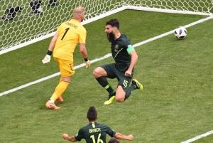Rescataron un punto los Soccerroos y siguen con vida