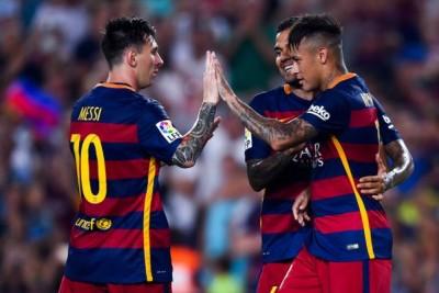 Messi y Neymar 5