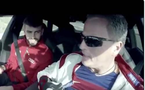 ¡¡¡No sueltes el volante!!! (VIDEO)