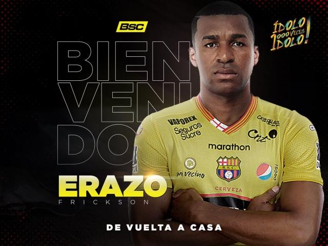 Frickson Erazo