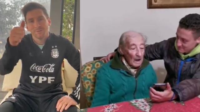 Messi abuelito