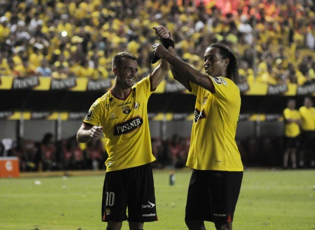 Damian Díaz y Ronaldinho 2