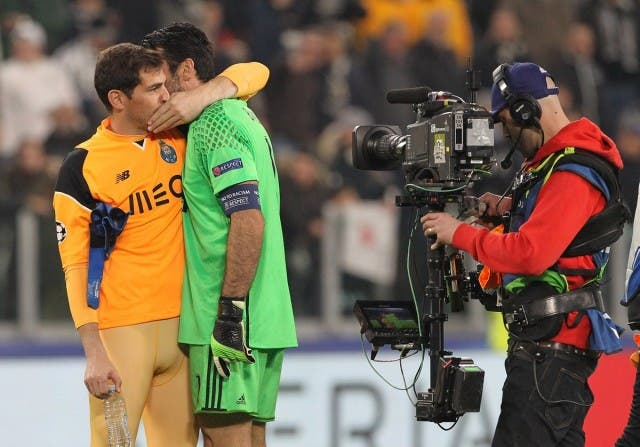 Iker Casillas y Buffon 2