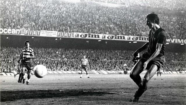 Johan Cruyff debut