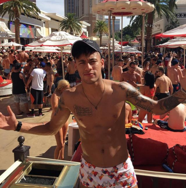 Neymar Junior Las Vegas