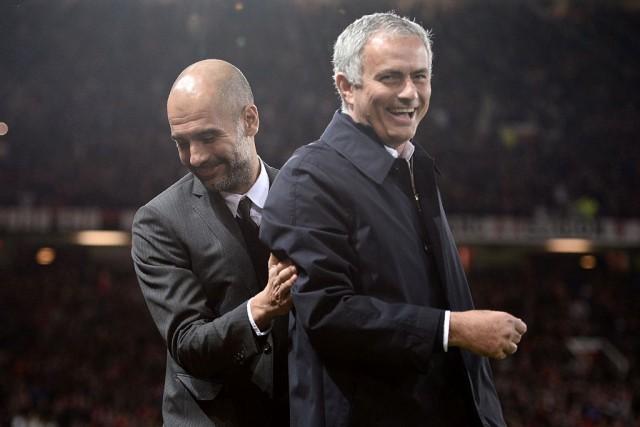 José Mourinho y Pep Guardiola 2