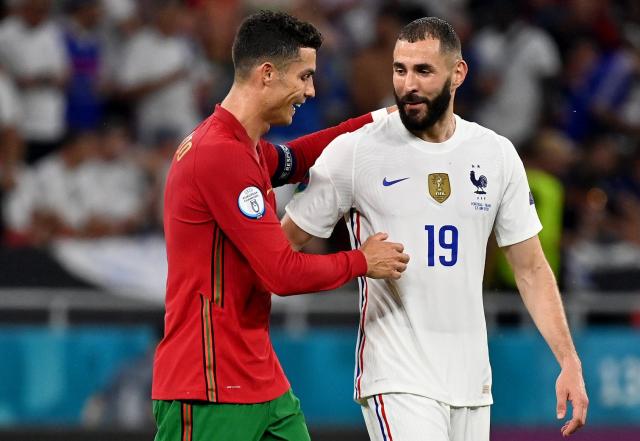 Cristiano Ronaldo y Benzema