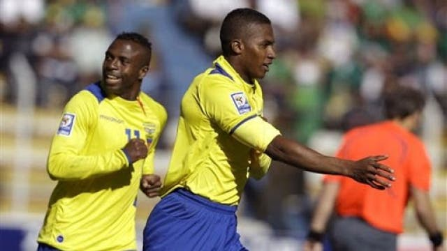Christian Benitez y Antonio Valencia Ecuador