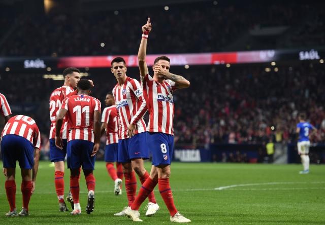 Atletico de Madrid 9