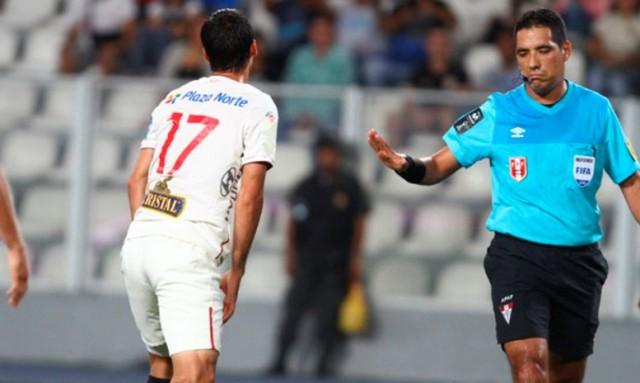 Arbitro Diego Haro