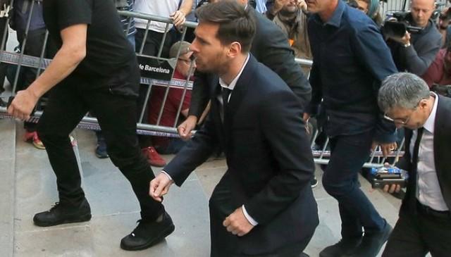 Lionel Messi juicio
