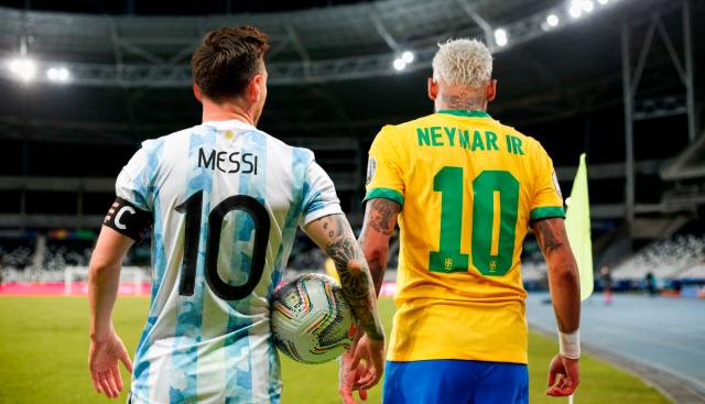 Messi y Neymar 2