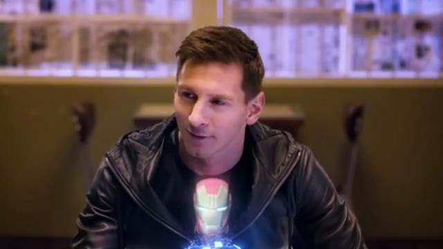 Iron Messi (VIDEO)