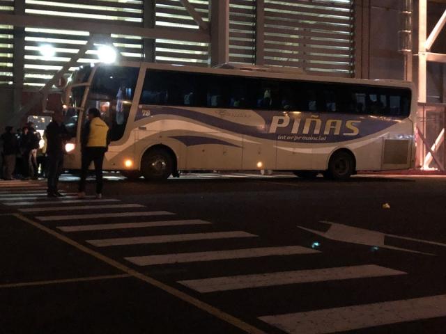 Bus Fuerza Amarilla