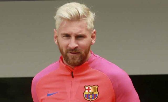 Lionel Messi rubio 2