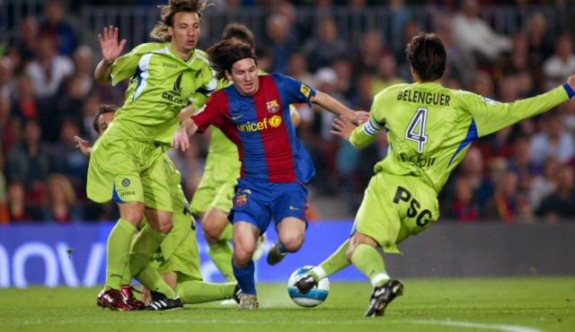 Messi gol Maradoniano
