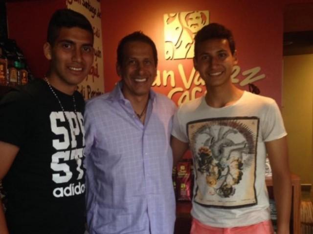 José Cevallos e hijos 2