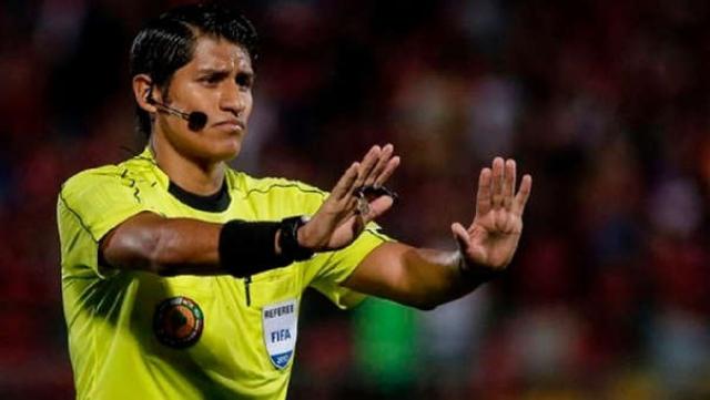 arbitro Michael Espinoza