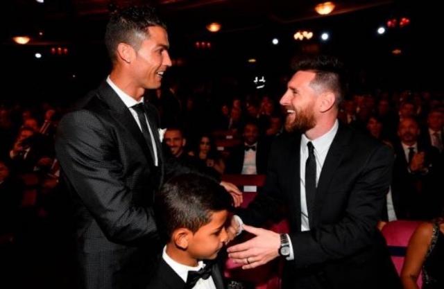 Cristiano y Messi 3