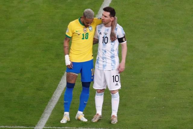 Messi y Neymar 3