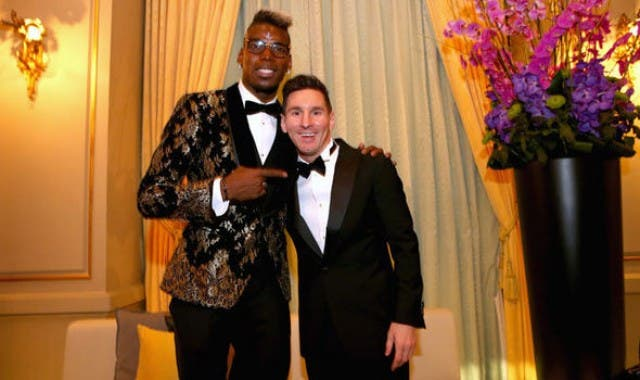Paul Pogba y Lio Messi