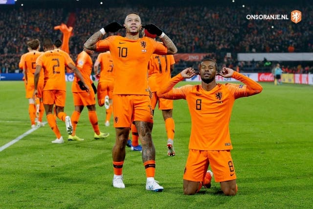 Seleccion Holanda