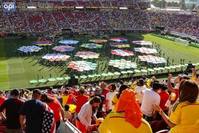 Copa America Centenario inauguracion 2