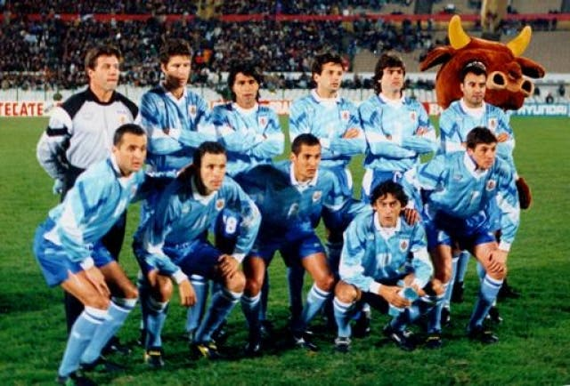 Seleccion Uruguay 1995