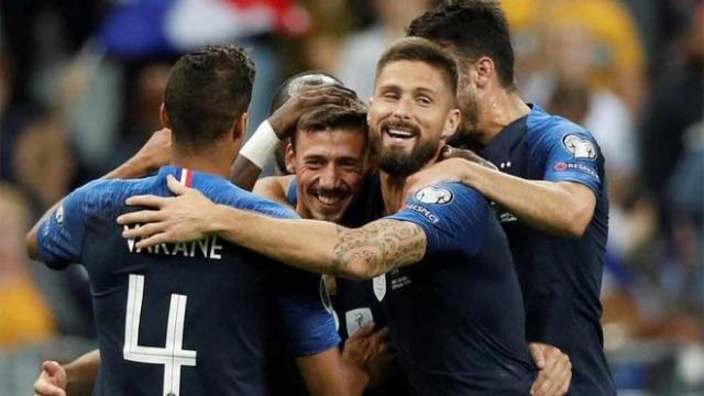 Selección Francia 2