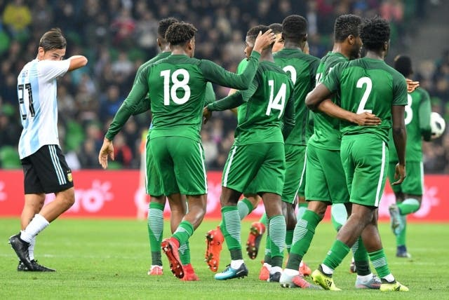 Selección Nigeria 2