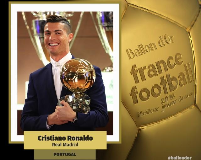 Cristiano Balón de Oro 2016