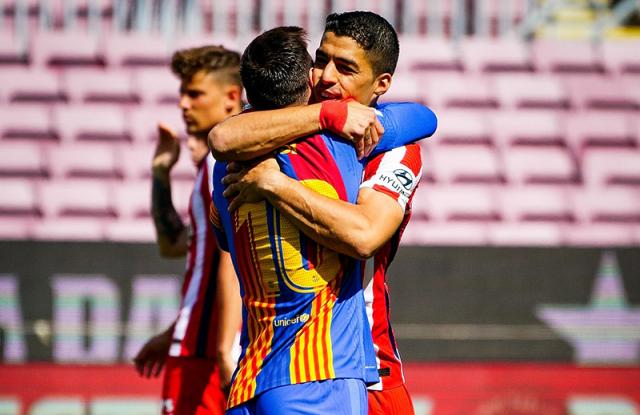 Messi y Suarez 1