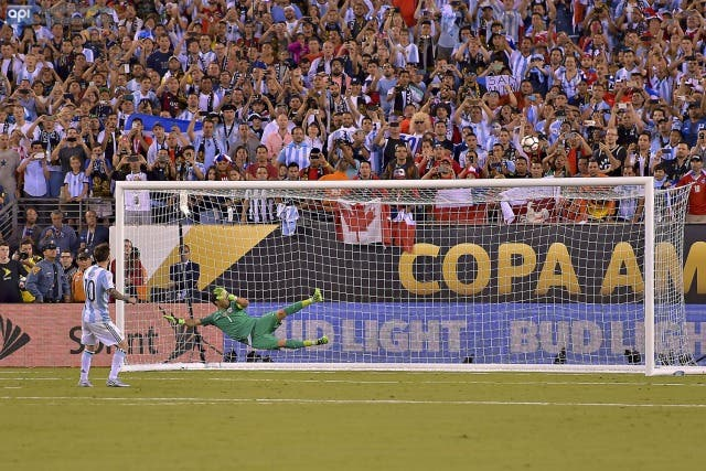 Lionel Messi penal