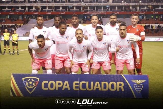 Resultado de imagen para Liga de Quito final copa ecuador alineacion