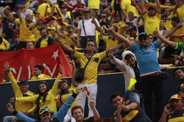 Hinchada Colombia