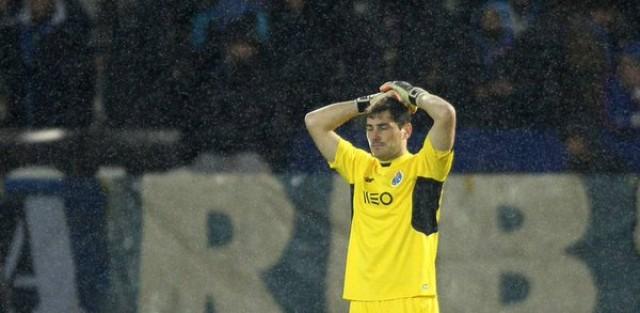 Iker Casilla error