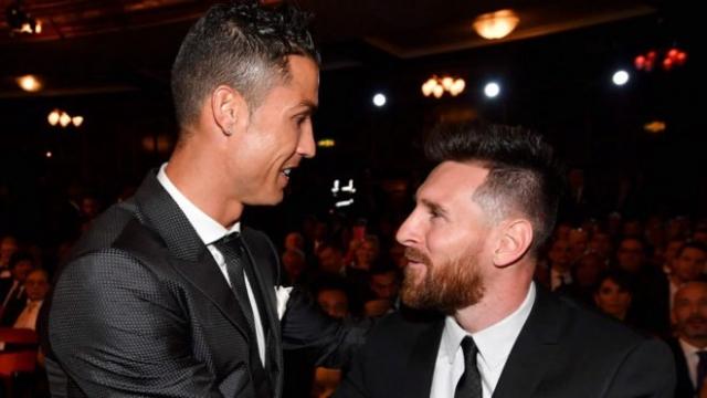 Cristiano y Messi 5