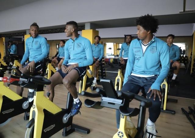 Ecuador entrenamiento