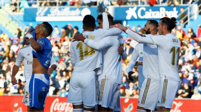 Real Madrid festejo