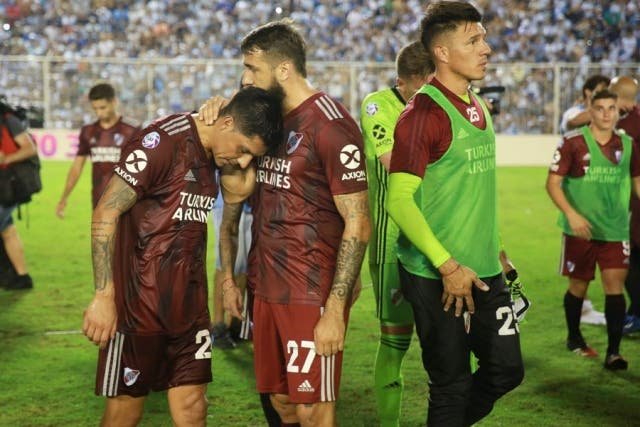 River Plate triste