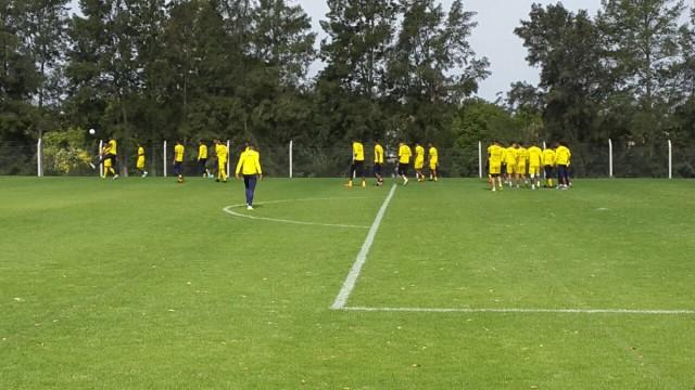 Selección en Montevideo