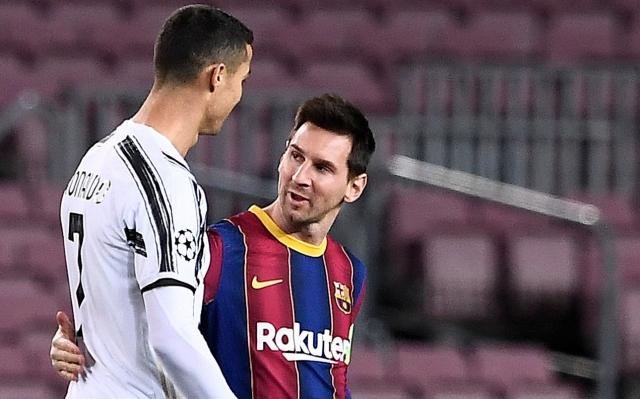 Cristiano y Messi 2