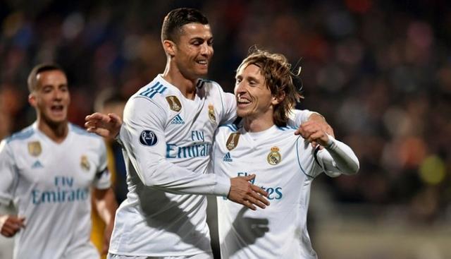 Luka Modric y Cristiano