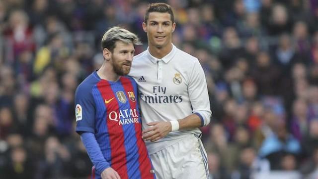 Lionel Messi y Cristiano
