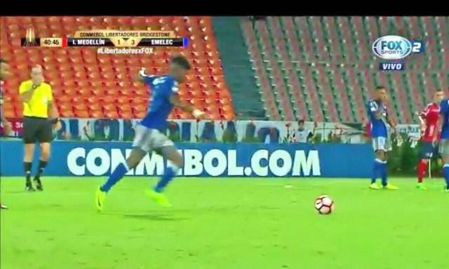 Fernando Pinillo gol anulado