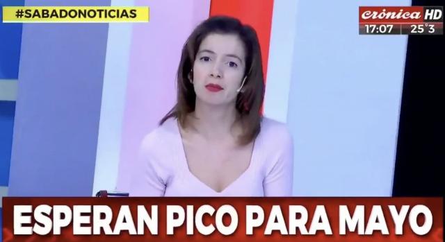 Periodista argentina