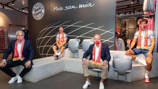 Bayern Munich mascarilla
