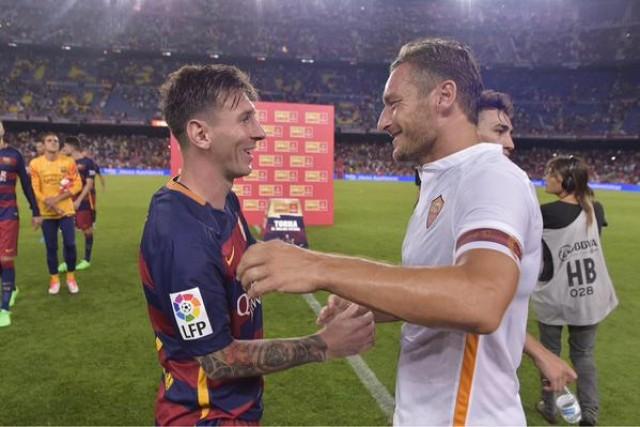 Messi y Totti