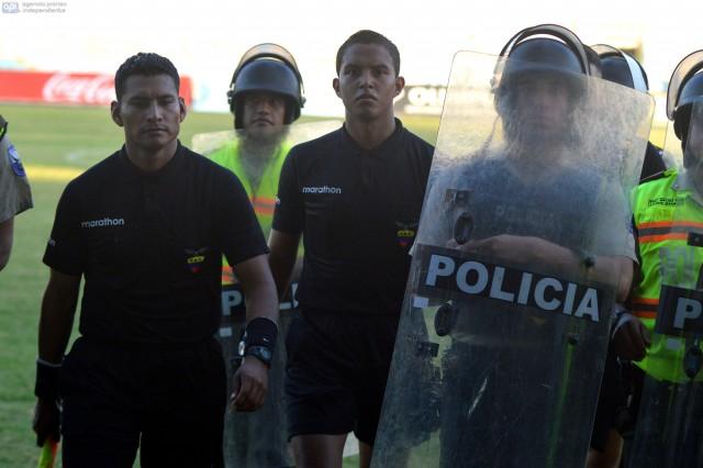 Arbitro Marlon Vera
